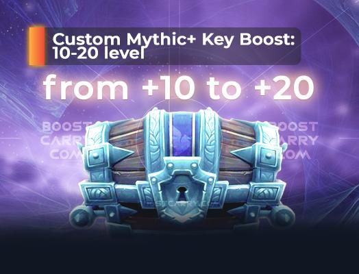custom mythic keystone boost