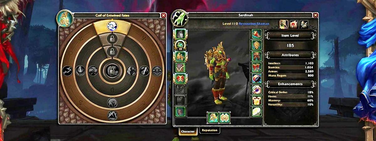 Azerite Armor enchantement