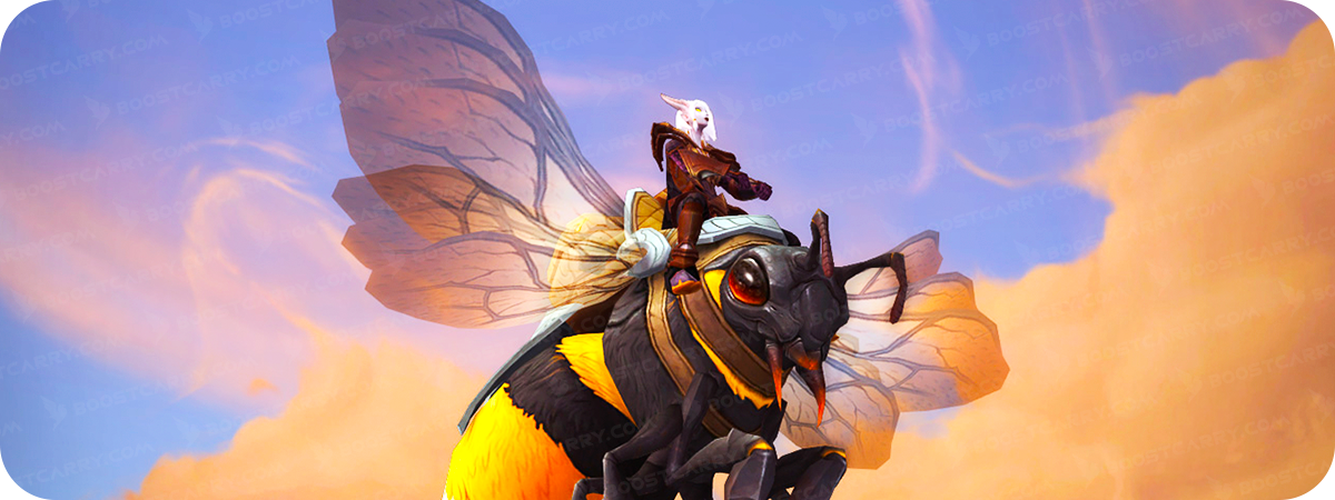 Trained Swarmer new Bee mount