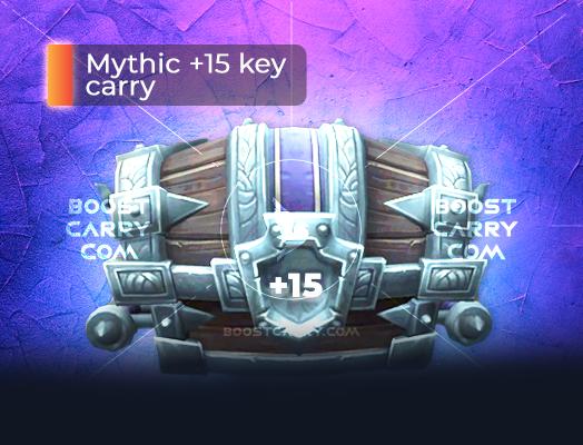 Mythic 15 key carry