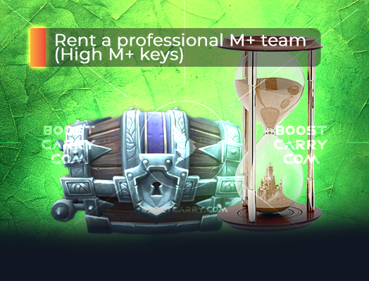 Rent a professional M+ team