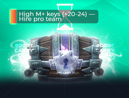 High M+ Keys hire pro team