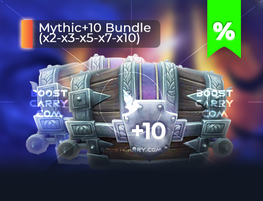 wow mythic dungeons 10 cheap carry
