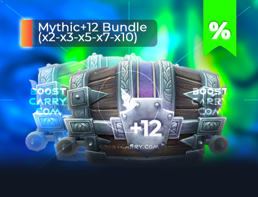wow mythic dungeons 12 cheap carry