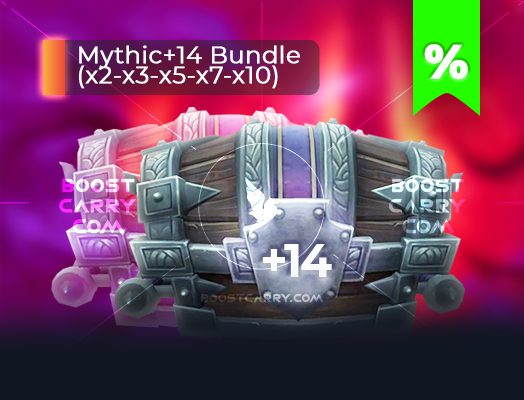 wow mythic dungeons 14 cheap carry