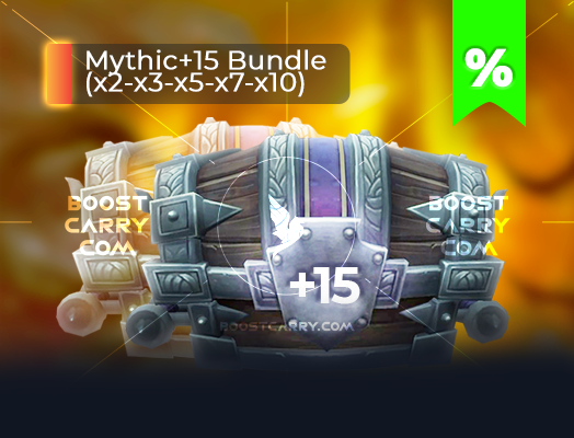 wow mythic dungeons 15 cheap carry