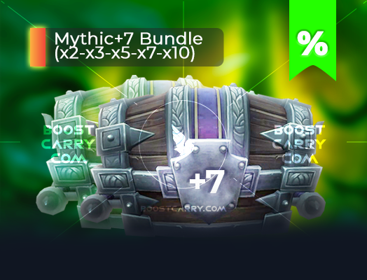 wow mythic dungeons 7 cheap carry