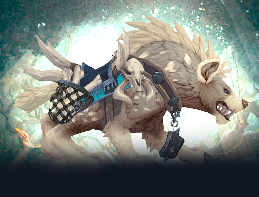 Buy Alabaster Hyena mount