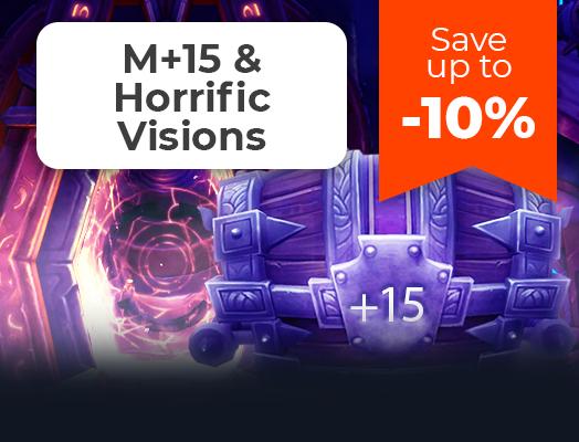 M+15 & Horrific Visions