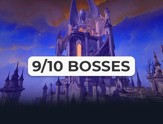 Castle Nathria raid 9/10 carry