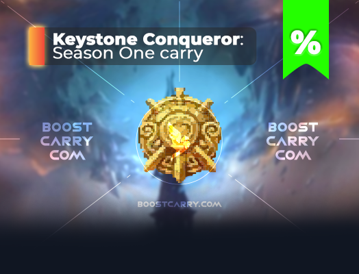 wow Shadowlands Keystone Conqueror carry