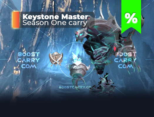 wow Shadowlands Keystone Master carry