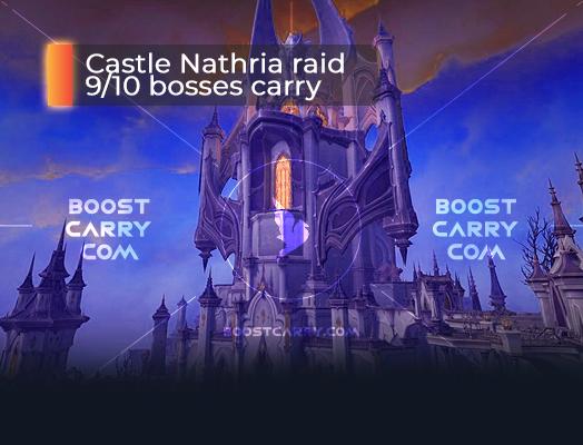 Castle Nathria raid 9_10 carry