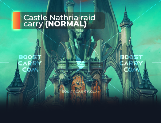 Castle Nathria raid normal carry-2