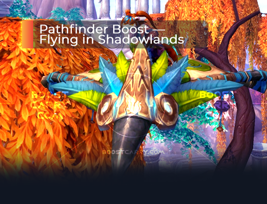 Pathfinder Boost — Flying in Shadowlands