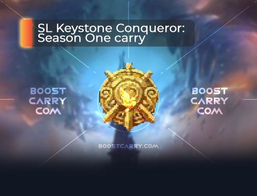 Shadowlands Keystone Conqueror carry