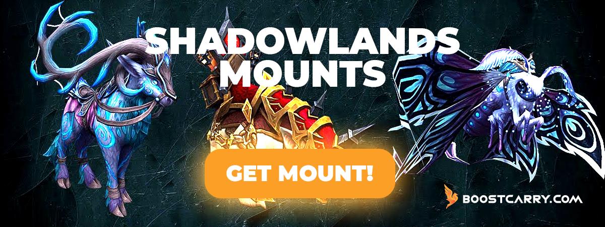Shadowlands Mounts farm