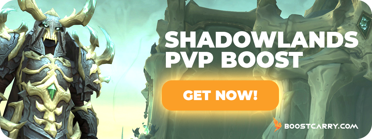 Shadowlands PvP boost