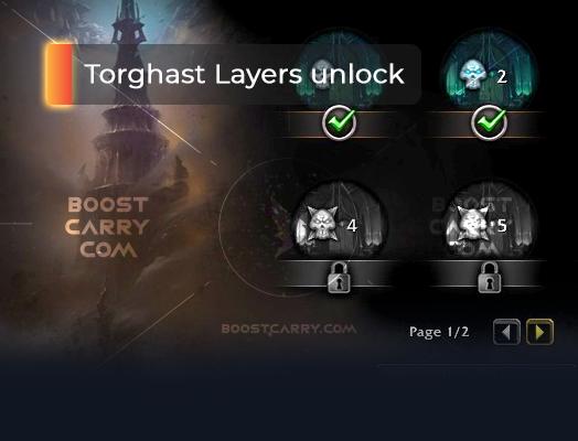 Torghast Layers unlock