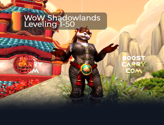 WoW Shadowlands Leveling 1-50