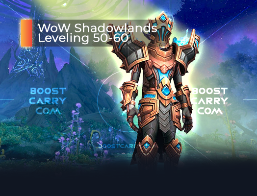 WoW Shadowlands Leveling 50-60