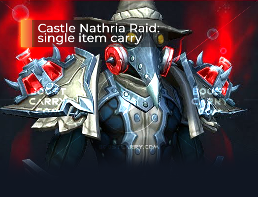 Castle Nathria Raid single item carry