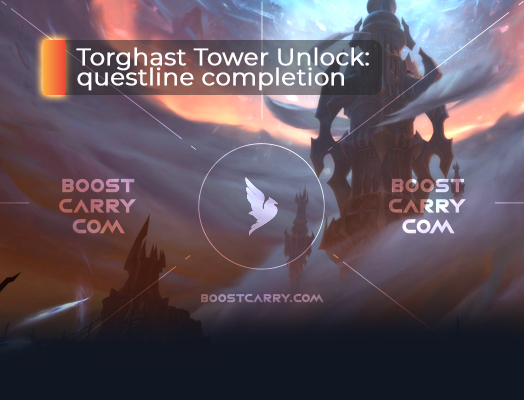 Torghast Tower unlock questline completion