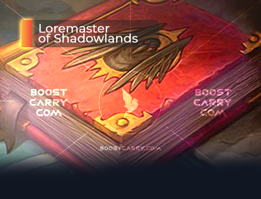 Loremaster of Shadowlands carry