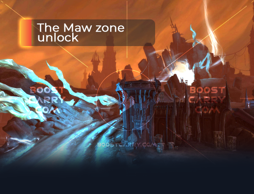 The Maw unlock
