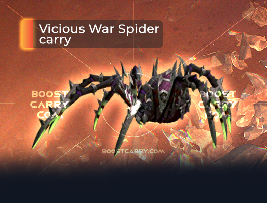 Vicious War Spider carry