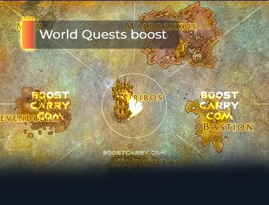 Shadowlands World Quests Boost