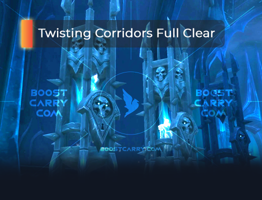 Twisting Corridors Full Clear
