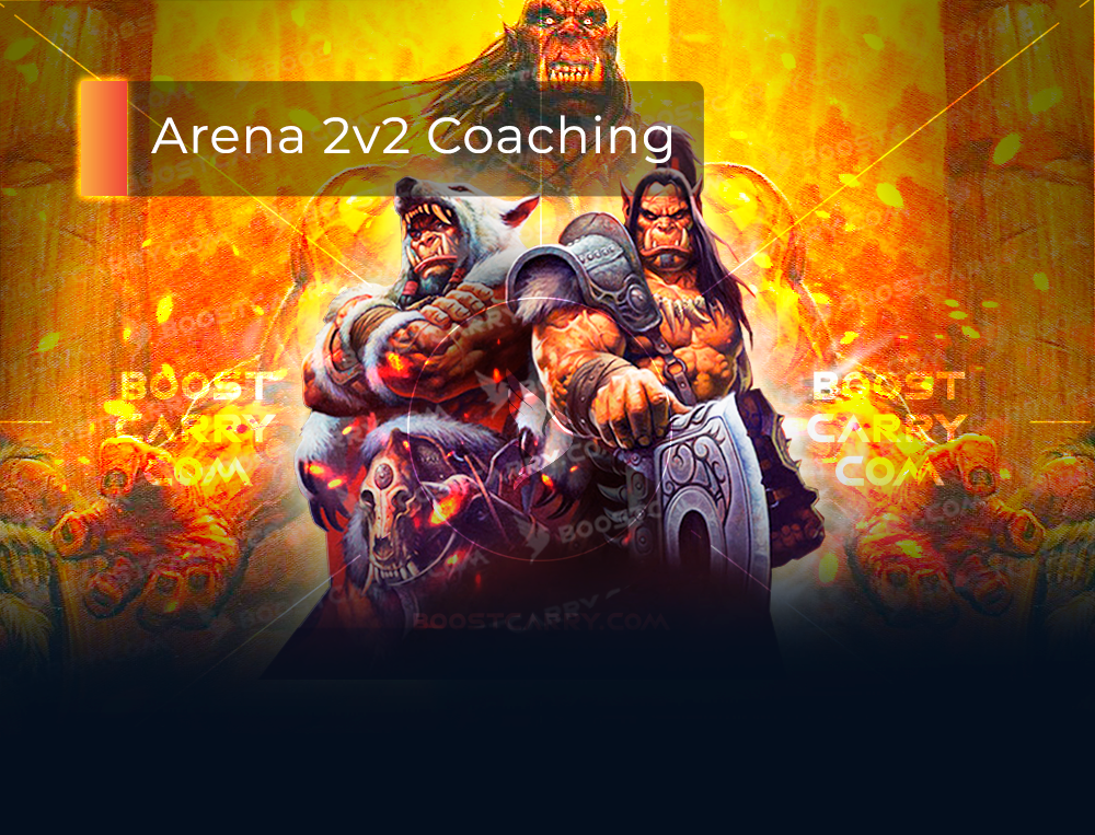 wow arena 2v2 coaching