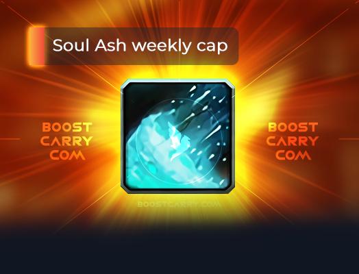 Soul Ash weekly cap farm boost