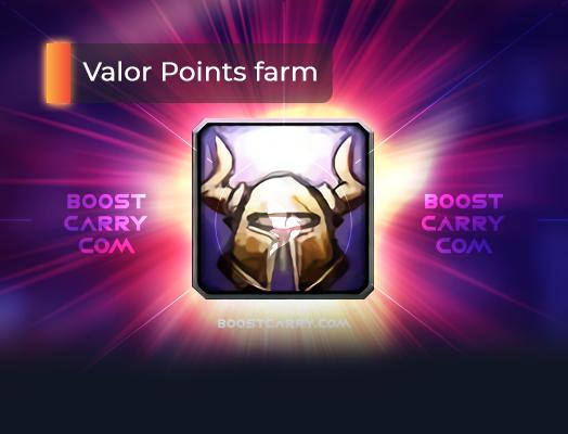 Valor Points farm boost carry
