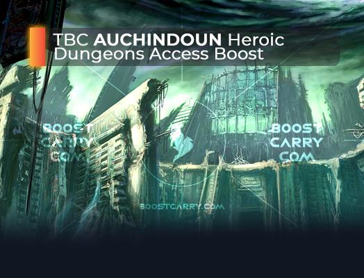wow tbc auchindoun heroic dungeons access