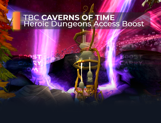 wow tbc caverns of time heroic dungeons access