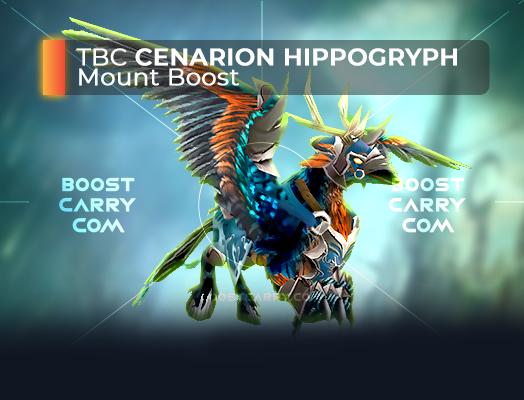 wow tbc cenarion hippogryph mount