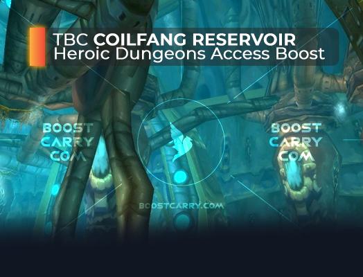 wow tbc coilfang reservoir heroic dungeons access