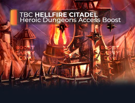 wow tbc hellfire citadel heroic dungeons access