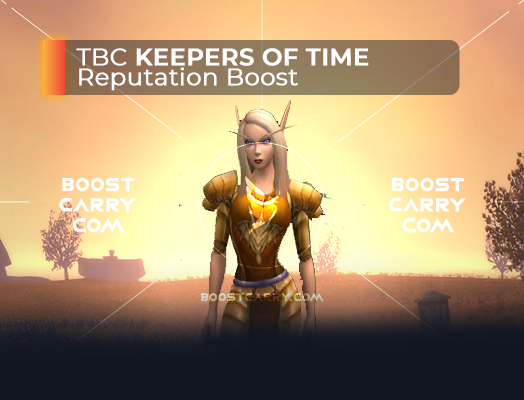 wow tbc keepers of time rep boost