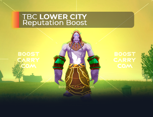 wow tbc lower city rep boost