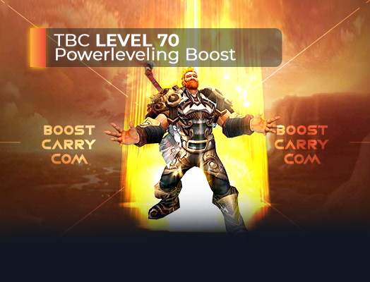 wow tbc powerleveling boost