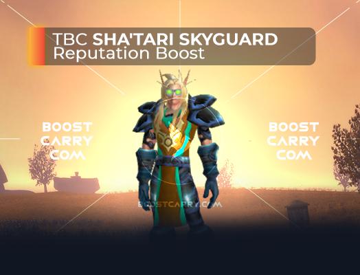 wow tbc shatari skyguard per boost