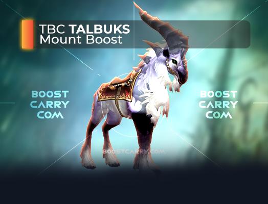 wow tbc talbuks mount