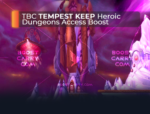 wow tbc tempest keep heroic dungeons access