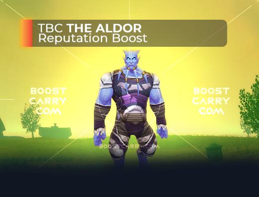 wow tbc the aldor rep boost