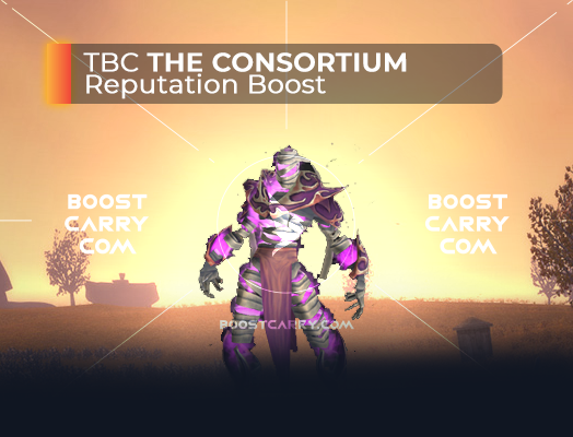 wow tbc the consortium rep boost