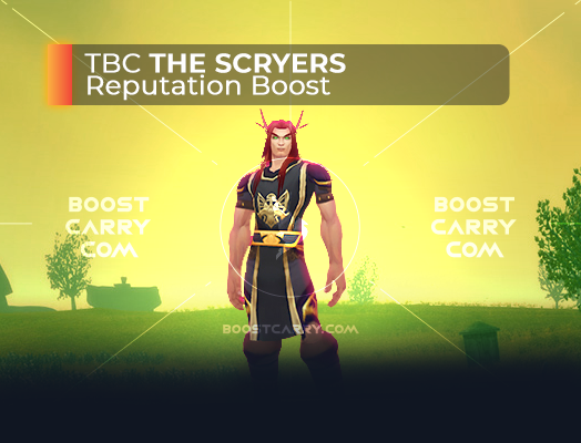 wow tbc the scryers rep boost