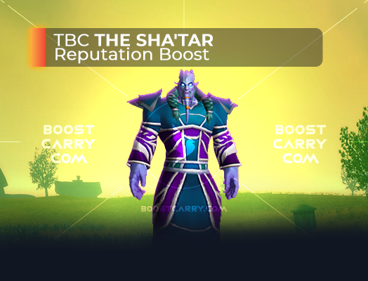 wow tbc the shatar rep boost